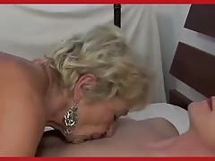 Hot Euro Granny Cougar Gets it Good
