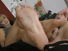 Leggy Mature Foot Worship!