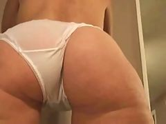 Cotton pantie mature