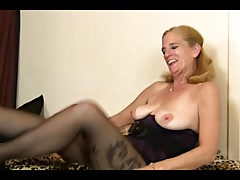 4 GILF on her own