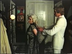 Blonde cougar has sex with gigolo vintage