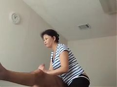 Mature Woman Massage