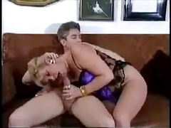 Pretty German Milf In Lace Blouse Blows And Fucks