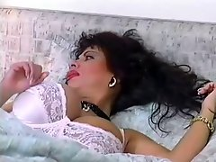 Busty milf with younger man In German