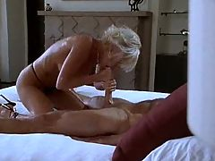 Blonde mature knows better vm