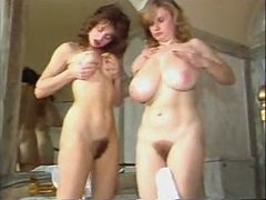 Titanic Toni Frances and girlfriend bathing