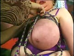 Rope GIANT tits