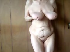 Old Granny With Huge Tits