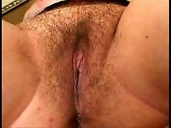 Hairy blonde fuck good