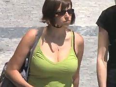 Candid Busty Bouncing Tits Vol 20