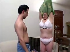 Milf enjoys a young man cock