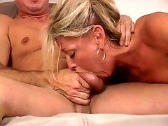 Blonde Milf Chelsea Zinn Pov Blow Job & Deep Throats