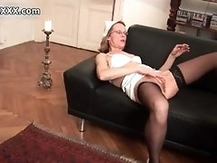 Dirty mature whore goes crazy sucking on a dick by aust