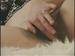 Hairy Babe Playing