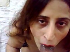 Blowjob cum swallowing