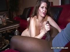 Mom Fucks Black Big Cock Friend Of Her Son !