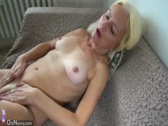 Oldnanny Blonde Mature And Slave Brunette Teen Masturbating