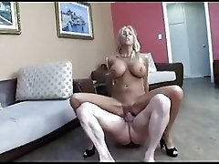 Blonde MILF begs for a creampie #232NT