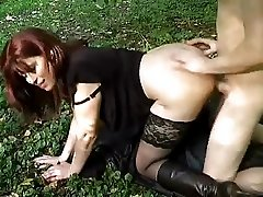 Milf Fucked In Forest By Young Guy