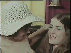 Vintage 70s german Grossmutters Stuebchen cc79