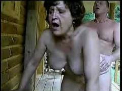 Mature fat granny