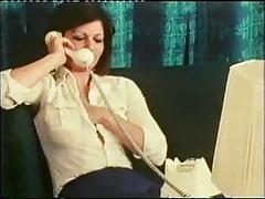 Vintage 70s german Telefon Service cc79