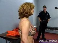 Mature woman was fucked in state prison