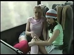 Lesbian Sock And Foot Worship On Bus