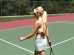 Barbi Loses Tennis