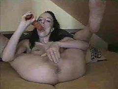 Hot Wife Play With Her Pussy And Asshole Too Amateur Mature