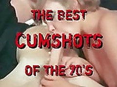 Hardcore best cumshots of the 70s