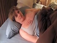 Milf Masturbating With A Dildo