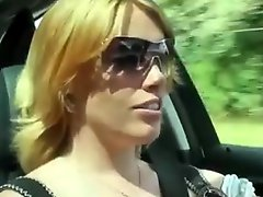 Milf Fucks A Lot Of Strangers On The Grass By The Lake
