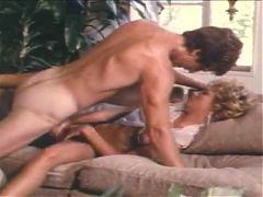 Paul Thomas Dumps His Load Into Gina Carrera On A Couch