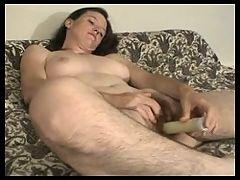 Hairy Sandy Toy Masturbation