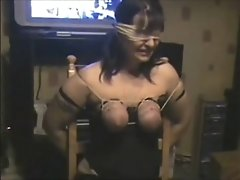 Whipping Tits Of My Submissive Slut