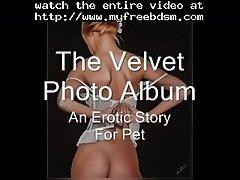 The Velvet Photo Album BDSM Bondage Slave Femdom Domina