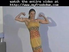 Topless Female Wrestling Charlene Rink Vs Jazz BDSM Bo