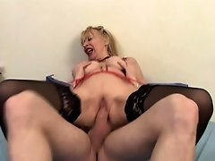 Mature Marie Therese is Fucked in All Holes by Satanika