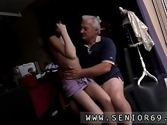Horny Senior Bruce Catches Sight Of A Ultra Cute Woman