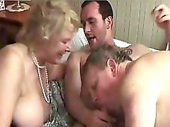 Bi Sex Matures Threesome