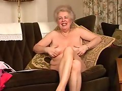 Delicious Hairy Old Granny Fingering Intro
