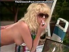 Jamie Summers Kim Angeli Tom Byron in classic porn site