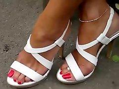 Mature high heels
