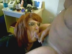 Pervert wife drinking my cum Home video