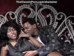 Ebony Ayes Tony El Ay in brilliant star of classic sex