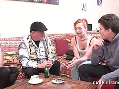 Anal Casting Couch Of A Pretty Young French Redhead