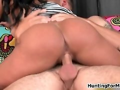 She Is On Top Of That Hard Cock And She Likes To Ride T
