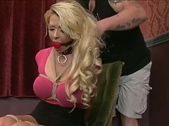 Big breast blond bound and fucked 1 of 2