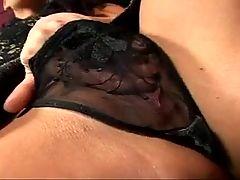 Sexy mature brunette gets her ass fucked